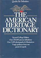 The American Heritage Dictionary: Second…