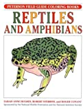 Sarah Anne Hughes: Reptiles and Amphibians (Peterson Field Guide Coloring Books)