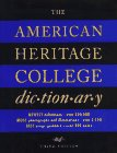 American Heritage: American Heritage College Dictionary