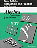 Kay Thompson: Algebra and Trigonometry: Structure and Method, Book 2: Study Guide for Reteaching and Practice