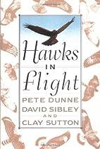 Hawks In Flight by Clay Sutton