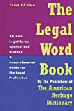 Gordon, Frank S.: The Legal Word Book: A Comprehensive Guide for the Legal Profession