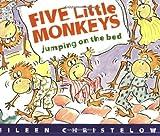 Christelow, Eileen: Five Little Monkeys Jumping on the Bed Book & Cassette (A Five Little Monkeys Story)