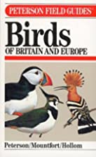 Birds of Britain and Europe by Roger Tory…