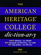 The American Heritage College Dictionary by…