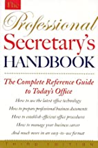 The Professional Secretary's Handbook by…
