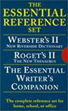 Essential Reference Set by American Heritage…