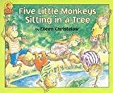 Christelow, Eileen: Five Little Monkeys Sitting in a Tree Book & Cassette (A Five Little Monkeys Story)