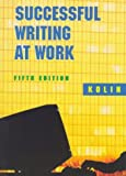 Kolin, Philip C.: Successful Writing at Work