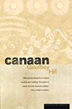 Canaan by Geoffrey Hill