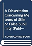 Werenfels, Samuel: A Dissertation Concerning Meteors of Stile or False Sublimity