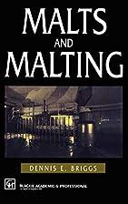 Malts and Malting by D.E. Briggs