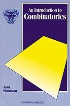 Introduction to Combinatorics (Discrete…