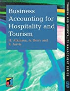 Business Accounting for Hospitality and…