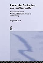 Modernist Radicalism and its Aftermath:…