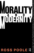 Morality and Modernity (Ideas Series) by…