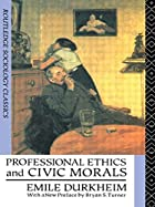 Professional Ethics and Civic Morals…