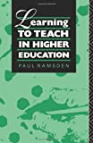 Ramsden, Paul: Learning to Teach in Higher Education