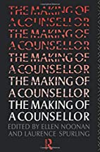 The Making of a Counsellor by Ms Ellen…