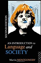 An Introduction to Language and Society…