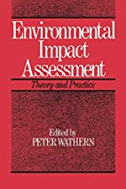 Environmental Impact Assessment: Theory and…
