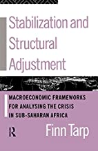Stabilization and Structural Adjustment:…