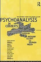 Psychoanalysis in Context: Paths between…