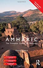 Colloquial Amharic by David Appleyard
