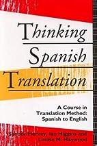 Thinking Spanish Translation by Louise…