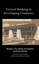Central Banking in Developing Countries:…