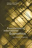 Foundations of International Economics Post Keynesian Perspectives