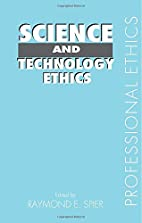 Science and Technology Ethics (Professional…