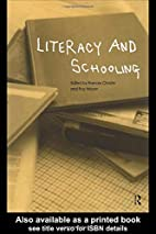 Literacy and Schooling by Frances Christie