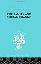 The Family and Social Change: International…