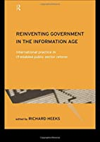 Reinventing Government in the Information…