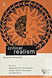 Lawson, Tony: Critical Realism: Essential Readings