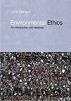 Environmental Ethics: An Introduction with…