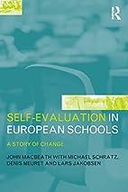 Self-evaluation in European schools : a…