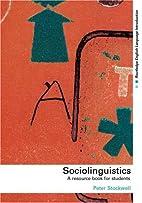 Sociolinguistics: A Resource Book for…