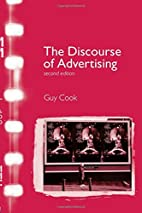 The Discourse of Advertising by Guy Cook