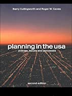 Planning in the USA: Policies, Issues and…