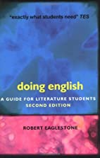 Doing English: A Guide for Literature…