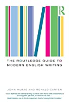 The Routledge Guide to Modern English…