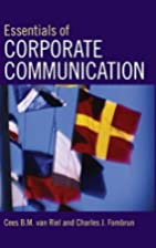 Essentials of Corporate Communication by…