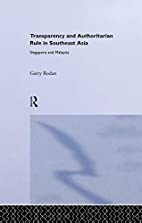 Transparency and Authoritarian Rule in…