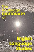 The Routledge Dictionary of English Language…