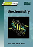 Instant Notes in Biochemistry (Instant…