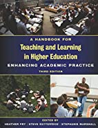 A Handbook for Teaching and Learning in…