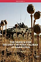 The search for security in post-Taliban…