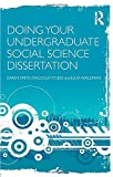 Smith, Karen: Doing Your Undergraduate Social Science Dissertation